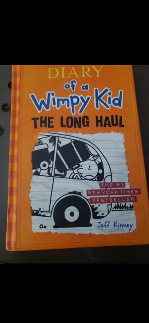 "Diary of a wimpy kid ""the long haul"" for Sale in Hesperia, CA"