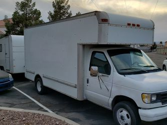 1995 Ford E350 Box Truck for Sale in Las Vegas,  NV