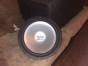 Polk audio 12in sub for Sale in Houston, TX