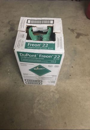 R22 Freon 30 lb new for Sale in Irving, TX