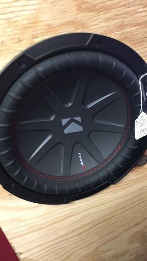Kicker comp r for Sale in New Site, MS