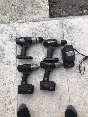 craftsman impact drill , small drill two impact gun for sale 'charger is not working ' for Sale in Miami, FL