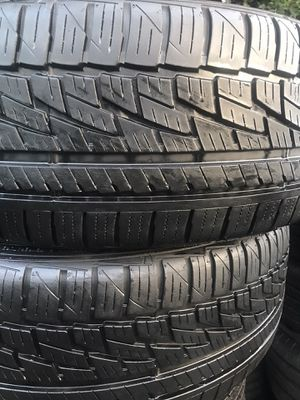 2 tires 245 45 20 falken 95% thread for Sale in Compton, CA