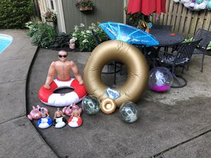 Bachelorette Pool Party Floats & drink holders for Sale in Olmsted Falls, OH