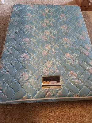 Queen Bed plus box spring for Sale in Raleigh, NC