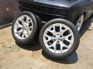 Gmc rims only 2 for Sale in San Bernardino, CA