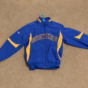 Brewers Cooperstown MLB bomber Jacket for Sale in Elk Grove, CA