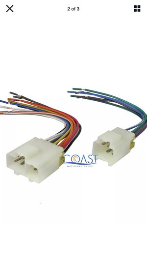 Aftermarket Car Stereo Wire Harness Combo for 1982-1996 Nissan Infiniti Mercury for Sale in Phoenix, AZ