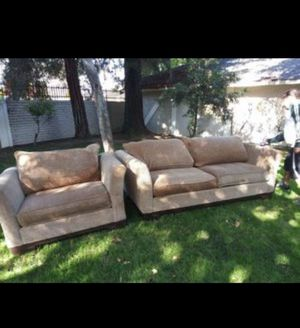 Sofa n large chair for Sale in San Jose, CA