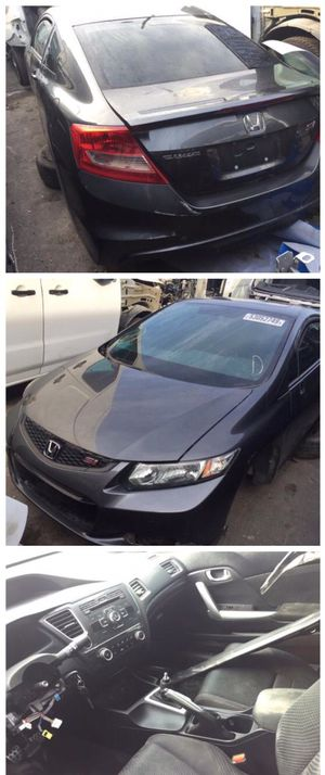For parts 2012 Honda Civic si sport 2.4 engine parting out oem part partes door trunk hood seats for Sale in Opa-locka, FL