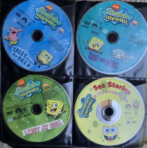 7 SPONGEBOB AND NICK PICKS DVDS. SELLING AS A GROUP. READ BELOW FOR SAVINGS INFO! for Sale in Virginia Beach, VA