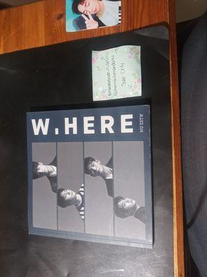 Nuest W.Here kpop album for Sale in Grand Prairie, TX
