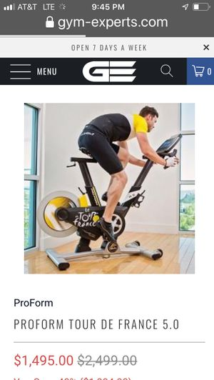 Exercise bike of your dreams for Sale in Fort Worth, TX