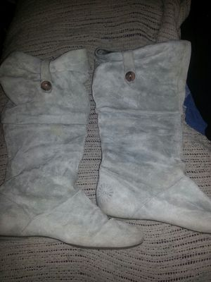Lnew UGGS AUSTRALIA LEATHER BOOTS SIZE 10 60firm for Sale in Glen Burnie, MD