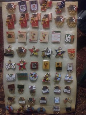1984 L.A olympic pins for Sale in Long Beach, CA