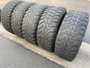 (5) 37x13.50R20 Toyo Open Country M/T - $425 for Sale in Santa Ana, CA