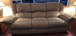 Reclining Sofa with heater and massage for Sale in Minooka, IL