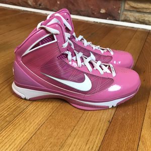 Nike Hyperize Breast Cancer Awareness Edition Pink White Womens Size 11 367193 -611 Gently uses for Sale in French Creek, WV