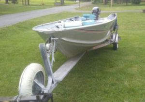 1989 Sea Nymph 14footer & Motor. for Sale in Frederick, MD