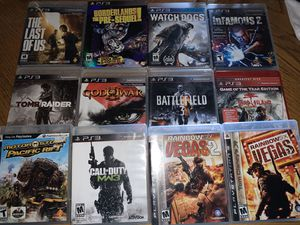 PS3 Games for Sale in Apple Valley, CA