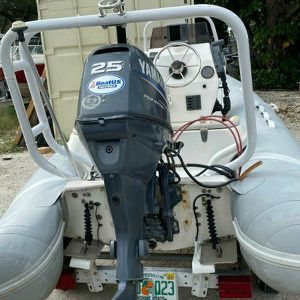 Inflatable Boat APEX with Tilt Engine for Sale in Miami, FL