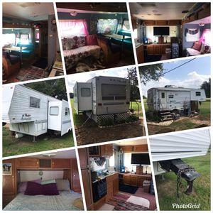 2001 Springdale 5th wheel camper, one slide out for Sale in Whitney, TX