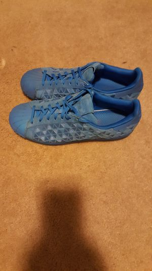 Shiny blue Adidas Men's size 11 for Sale in Round Lake Heights, IL