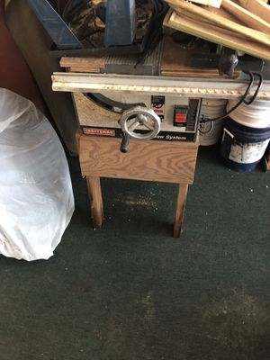 Craftsman table saw for Sale in Zolfo Springs, FL