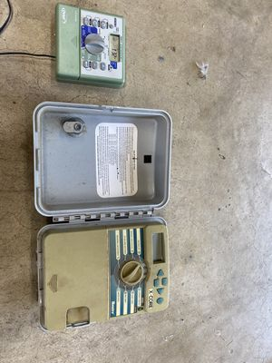 Orbits and hunter sprinkler timers for Sale in Rancho Cucamonga, CA