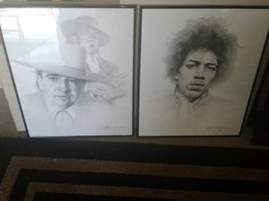 Music legends art for Sale in March Air Reserve Base, CA