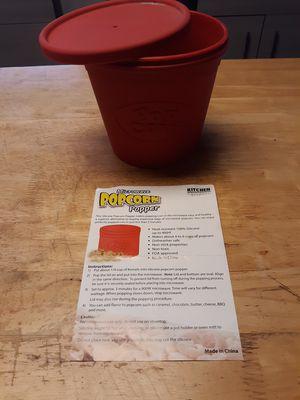 Silicone microwave popcorn popper for Sale in Winter Haven, FL