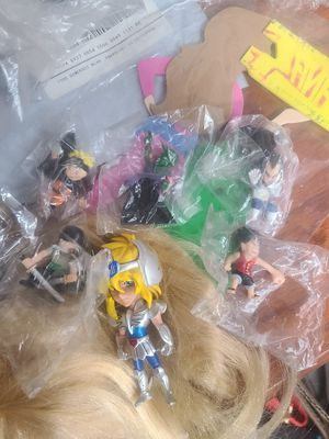 Anime figures one piece and caballeros for Sale in South Gate, CA