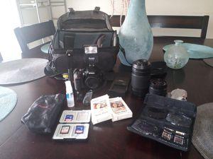 Nikon 3400 camera and accessories for Sale in North Miami Beach, FL