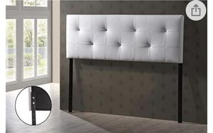 White Crystal Headboard for Sale in Gaithersburg, MD