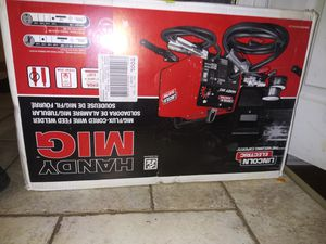 Mig welder - Lincoln & brand new unopened for Sale in Hatboro, PA