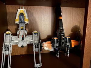 Lego tie fighter and y-wing for Sale in Laurel, MD