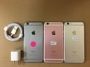 iPhone 6s 64gb factory unlocked, iphone AT&T, T-Mobile,Cricket Metro pcs, Verizon, Straight talk Simple mobile, unlocked, iphone for Sale in Dallas, TX