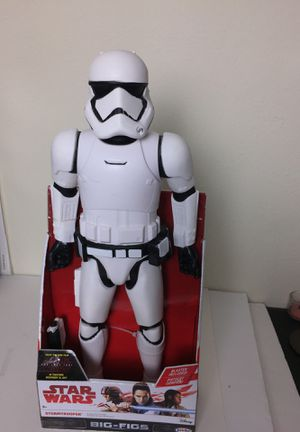 "Star Wars: The Last Jedi Stormtrooper Action Figure 18"" NEW for Sale in Austin, TX"