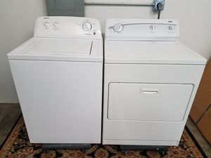 Admiral Washer And Kenmore Electric Dryer Set, Great Working 👍 Free 🚀 Delivery Same day Or expect To you🚚👷♂️& Free installation👨🔧 for Sale in Richardson, TX