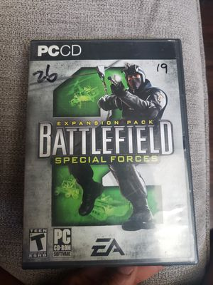 Battlefield special forces PC game for Sale in Ontario, CA