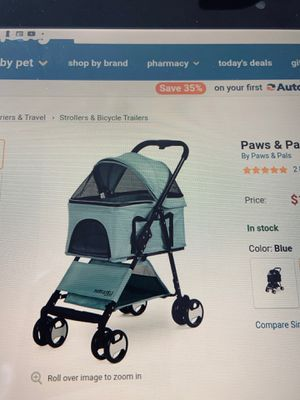Paws and pals heavy duty pet stroller for Sale in Torrance, CA