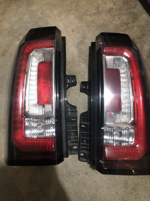 2016 Yukon oem taillights for parts (not working) for Sale in Modesto, CA