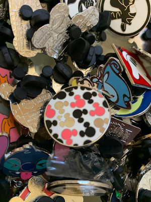 Disney collectables pins 10 random pins for $20 for Sale in Chula Vista, CA