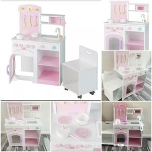 kids toddler small play kitchen wooden LAST ONE for Sale in Las Vegas, NV