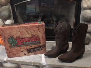 Women's western boots. Size 8. Brand new, never worn. $50.00 or BO. for Sale in Traverse City, MI