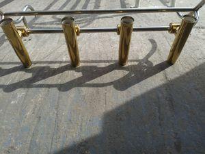 Rod holders ajustable gold stanley still for Sale in Hialeah, FL
