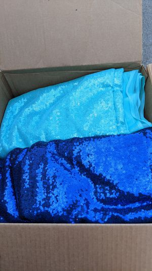 sequin fabric 6 different types for Sale in La Mesa, CA