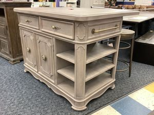 New Airtrip Kitchen Island With Shelves & Drawers for Sale in Virginia Beach, VA