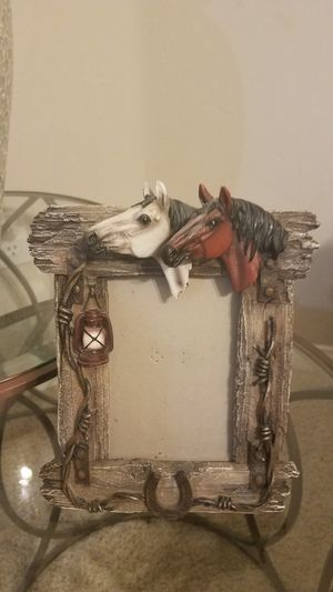 Horse photo frame for Sale in Bakersfield, CA