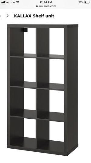 IKEA Kallax Unit Black (actual photo coming soon) for Sale in Portland, OR